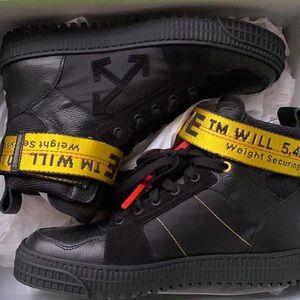 Virgil Abloh Off-White Industrial Hightop Sneakers